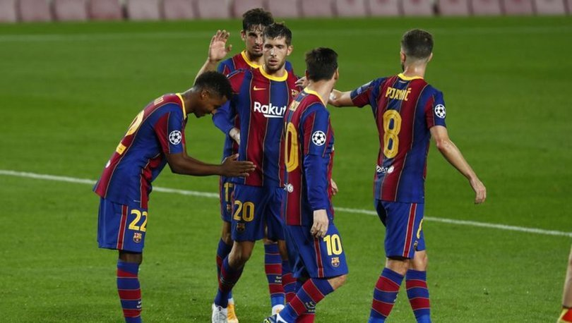 Barcelona: 5 - Ferencvaros: 1 | MAÇ SONUCU