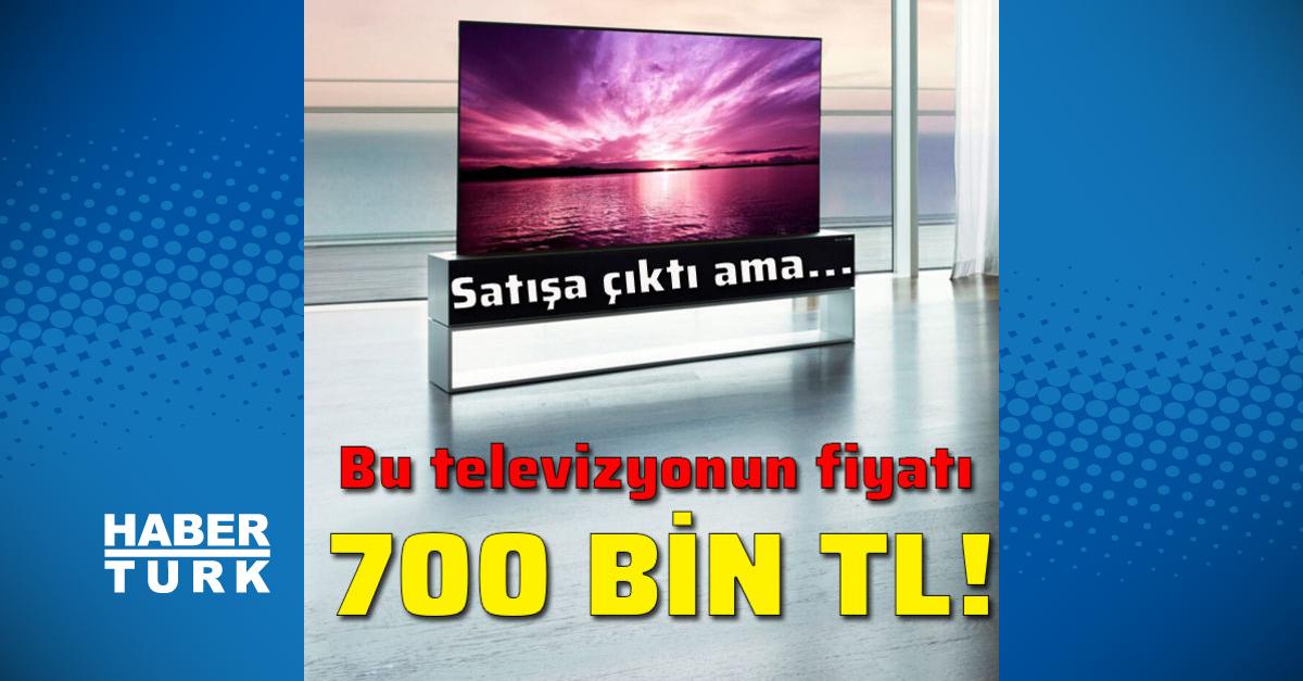 700 bin TL'ye 1 TV!