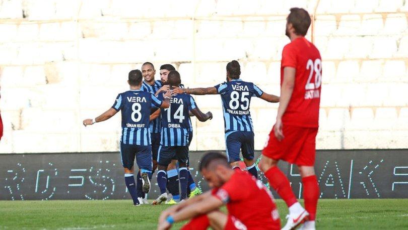 Adana Demirspor: 4 - Ümraniyespor: 2 MAÇ SONUCU