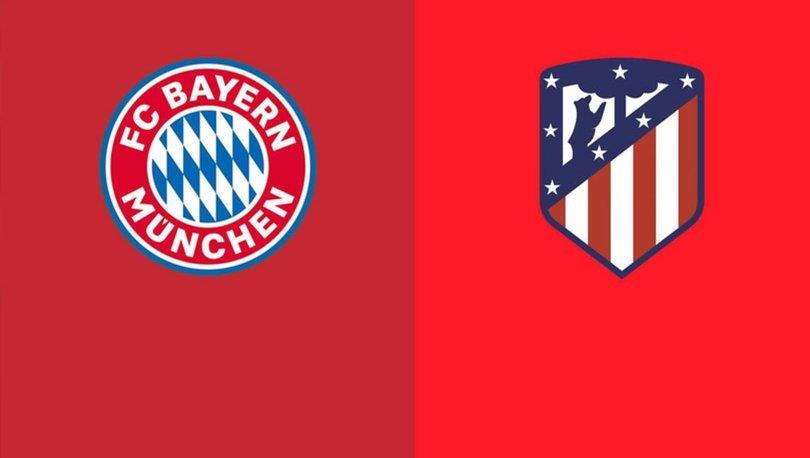 Bayern Münih Atletico Madrid maçı ne zaman, saat kaçta? Şampiyonlar Ligi maçı hangi kanalda?