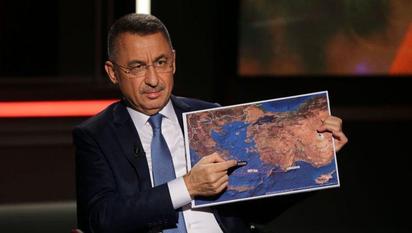 Cumhurbaşkanı Yardımcısı Fuat Oktay'dan SON DAKİKA Doğu Akdeniz açıklaması!
