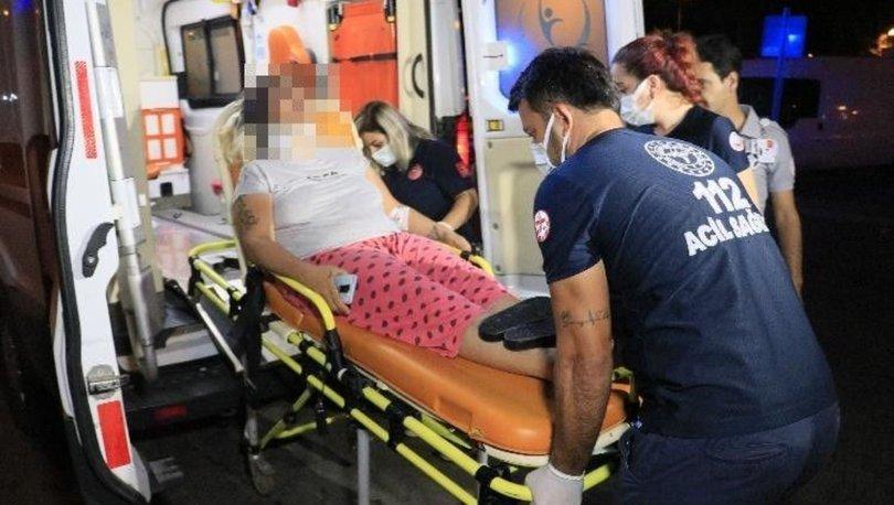 Adana'da eşi tarafından darp edilen kadın hastaneye kaldırıldı