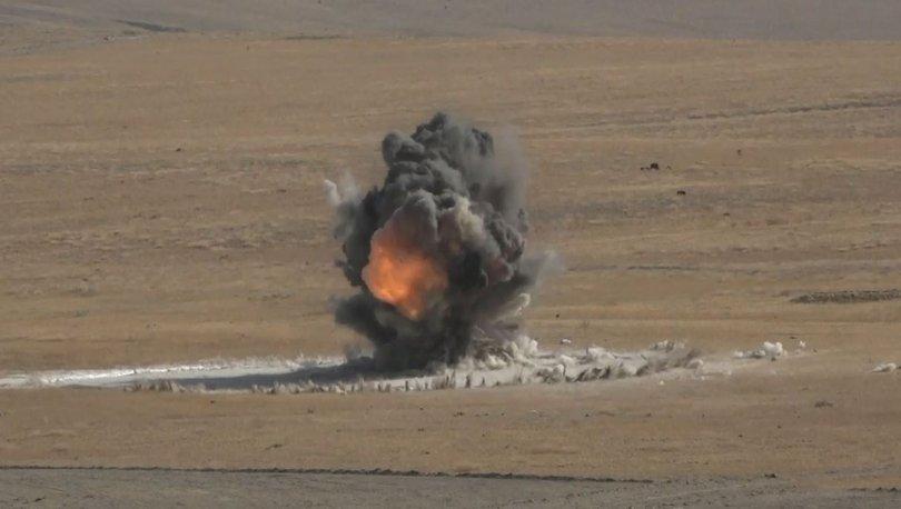 Yerli silahlar ilk kez test edildi