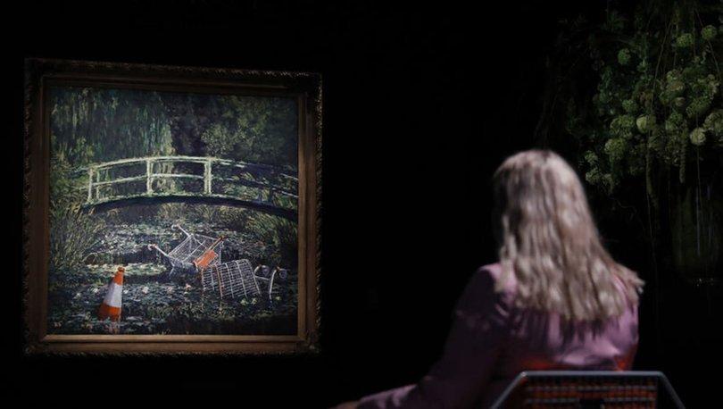 Banksy'nin eseri rekor fiyata alıcı buldu - Haberler