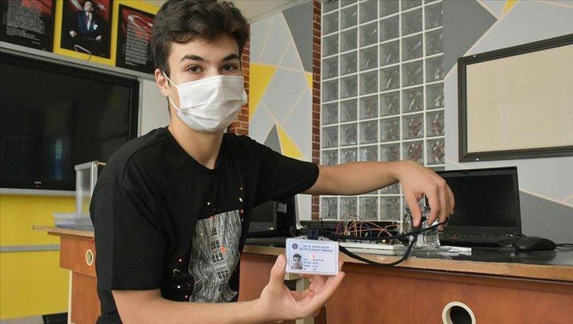 Öğrencilerin ateşi yükseldiğinde kimlik kartları uyarı verecek - Haberler