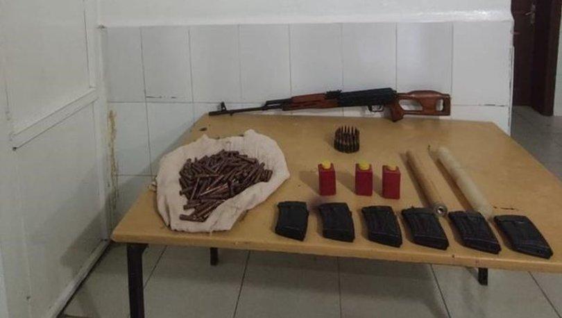 Hakkari'de PKK operasyonu! Silah ve mühimmat ele geçirildi