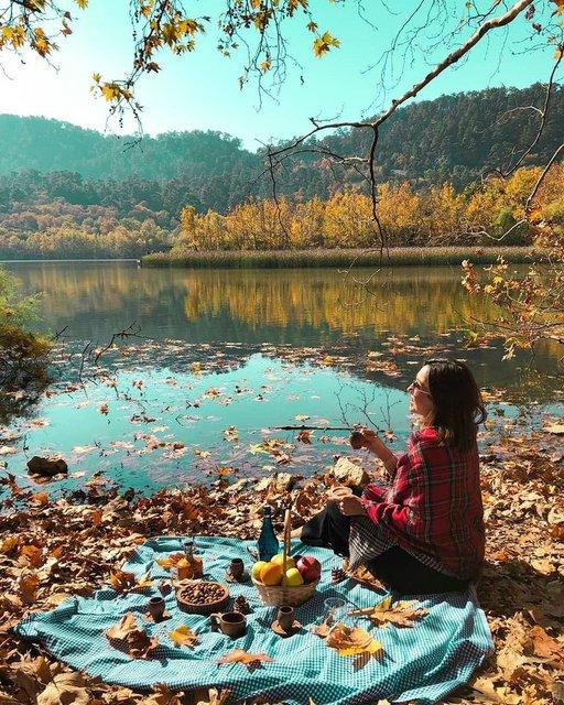 Sonbaharın tüm renkleri Kovada Gölü Milli Parkı'nda - Haberler