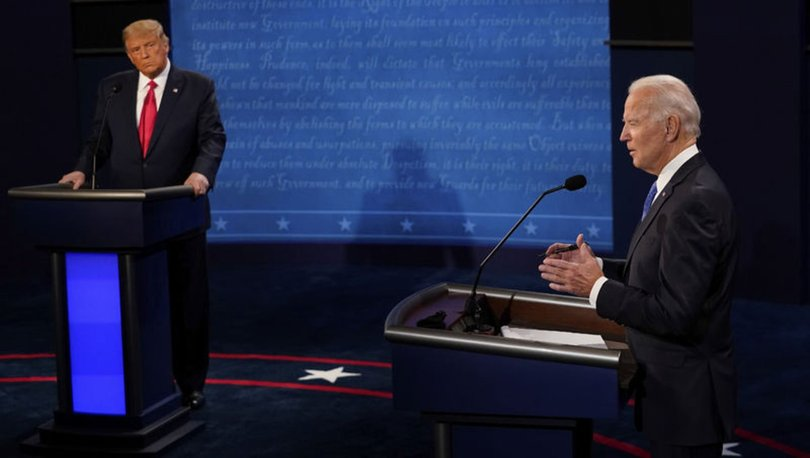 Son dakika! ABD'de başkanlık seçimleri öncesi Trump ve Biden'dan son düello