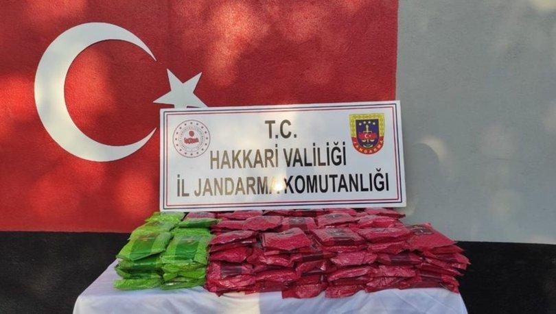 Hakkari'de 145 kilo kaçak tütün ele geçirildi