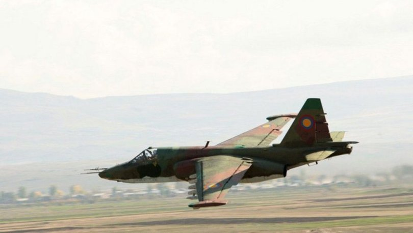 Son dakika! Azerbaycan ordusu, Ermenistan'a ait savaş uçağını düşürdü! - Azerbaycan son durum haberleri