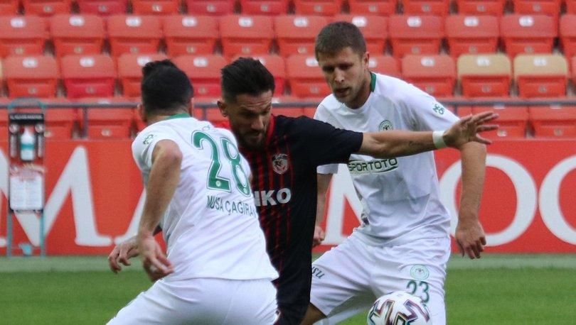 Gaziantep FK: 1 - Konyaspor: 0 | MAÇ SONUCU