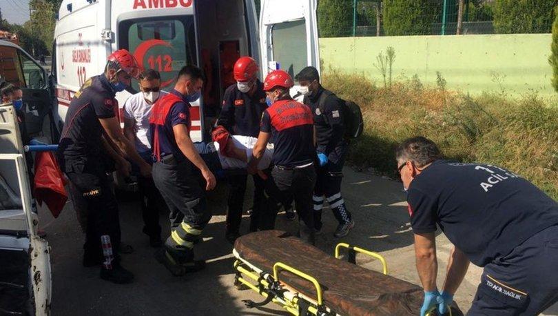 Aydın'da 100 metreden uçuruma uçan araç içindeki iki kişiden birisi öldü diğeri yaralandı