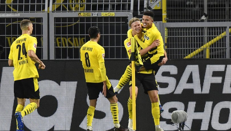 Borussia Dortmund: 3 - Schalke 04: 0 MAÇ SONUCU