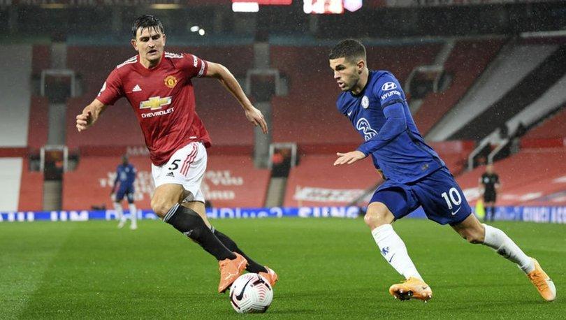 Manchester United: 0 - Chelsea: 0 MAÇ SONUCU