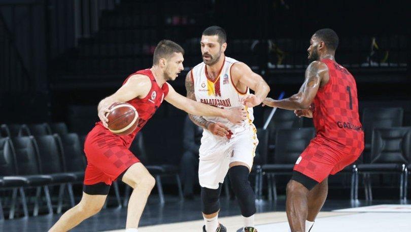 Galatasaray: 86 - Gaziantep Basketbol: 90 | MAÇ SONUCU