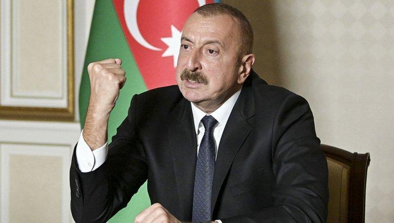 Son dakika! Aliyev açıkladı: İki kent daha Ermenistan'dan kurtarıldı!