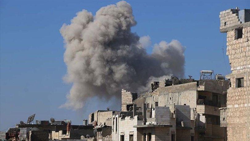 SON DAKİKA: Rus savaş uçakları İdlib'i vurdu! - Haberler