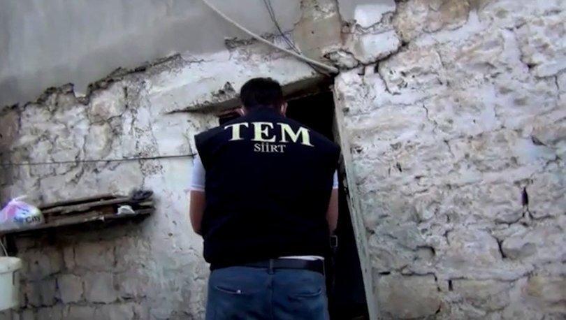 Son dakika: Siirt'te DEAŞ operasyonu: 6 gözaltı!