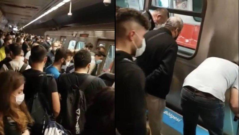 Son dakika haberleri: Metroda dehşet! Genç kız raylara düştü
