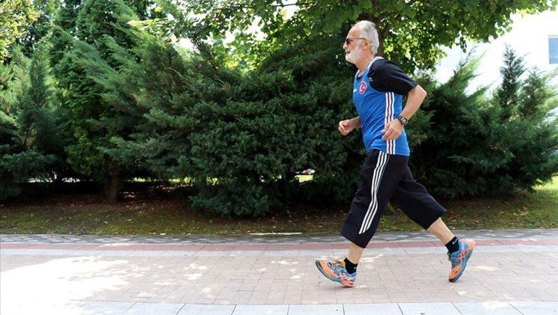 Koronavirüs salgınında 65 yaş üstündekiler spora yöneldi
