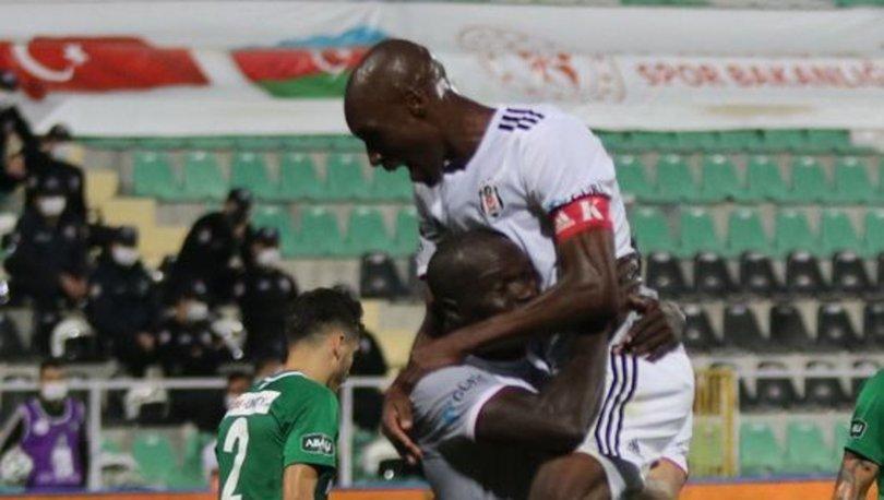 Beşiktaş'ta Atiba ve Aboubakar ilk gollerini attı