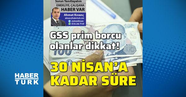 GSS prim borcuna ödeme kolaylığı