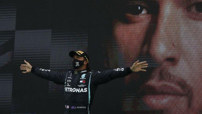 Hamilton, Formula 1'de tarih yazıyor