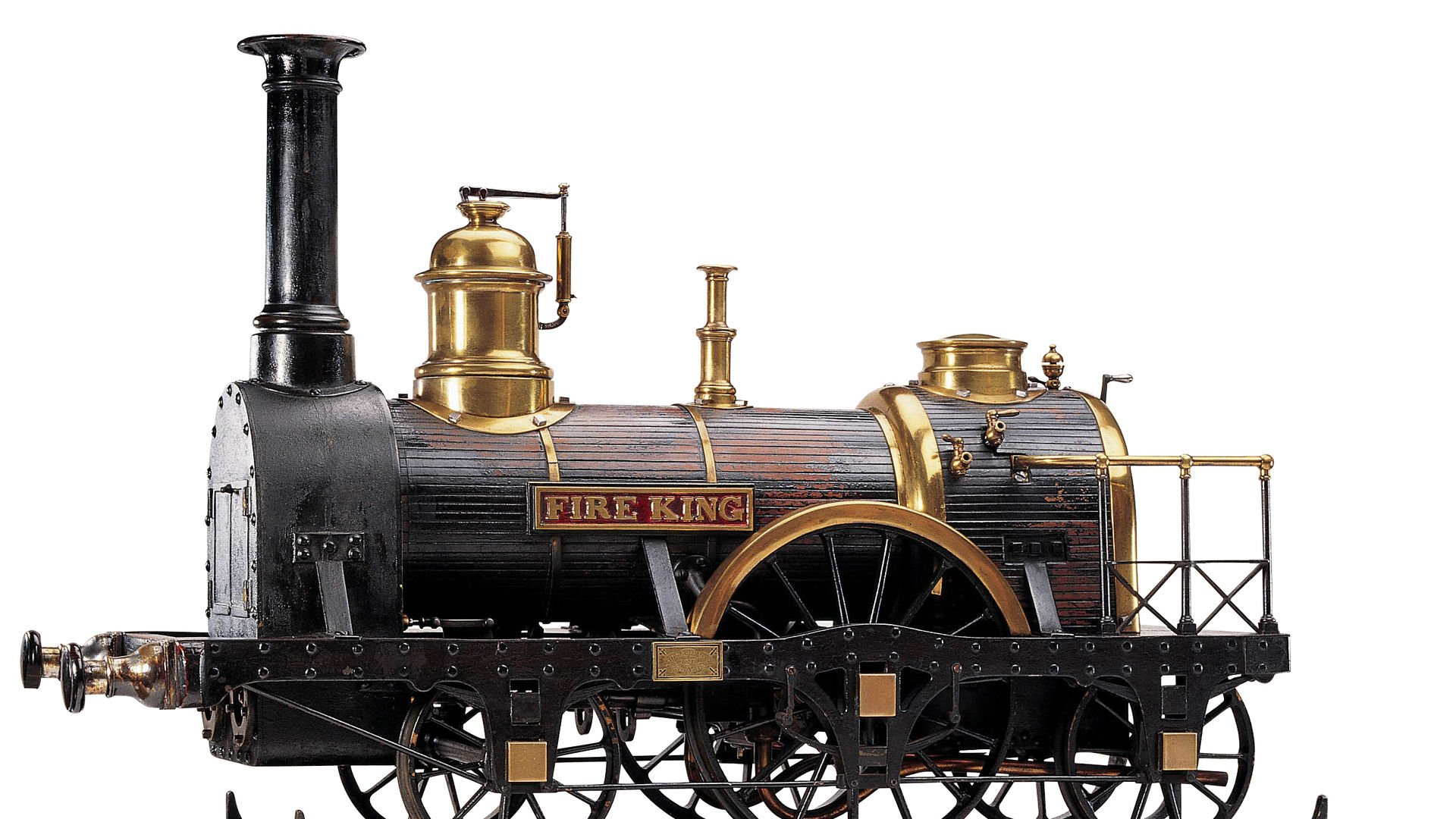 3 lokomotif Londra'da sergileniyor