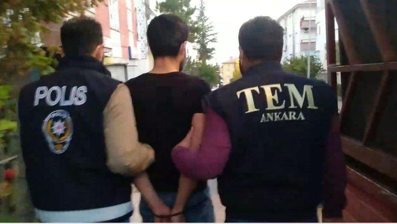 Son dakika! Ankara'da yakalanan DEAŞ şüphelilerinden biri