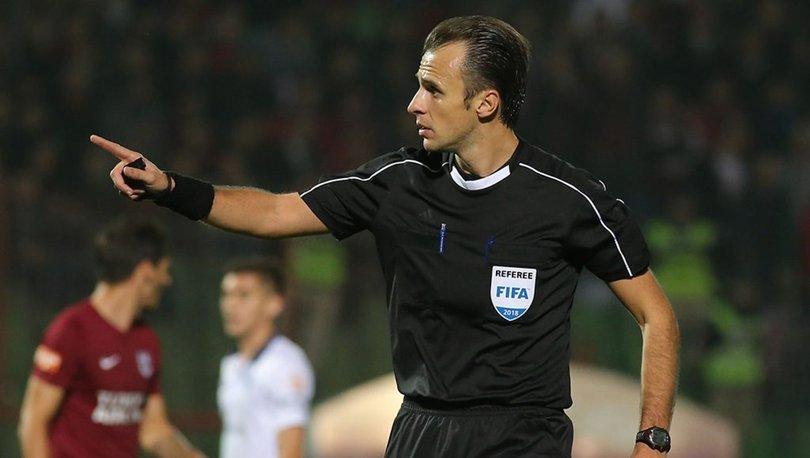 Sivasspor - Maccabi Tel Aviv maçını Irfan Peljto yönetecek