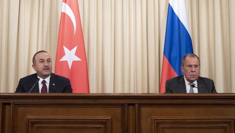 Son dakika: Dışişleri Bakanı Mevlüt Çavuşoğlu Rusya Dışişleri Bakanı Sergey Lavrov ile görüştü! - Haberler