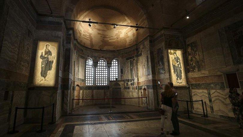İstanbul'daki Kariye Camii 30 Ekimde cuma namazı ile ibadete açılacak
