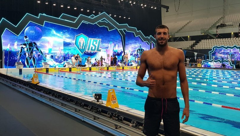 Emre Sakçı'dan Uluslararası Yüzme Ligi'nde 2 birincilik daha