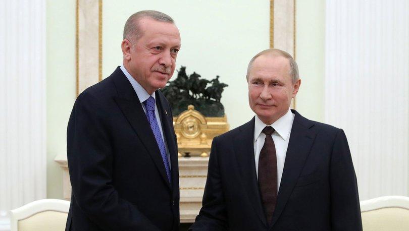 Son dakika: Cumhurbaşkanı Erdoğan, Rusya Devlet Başkanı Putin ile görüştü! - Haberler