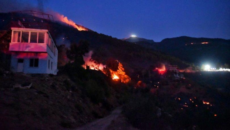Mersin Anamurdaki orman yangını kontrol altına alındı