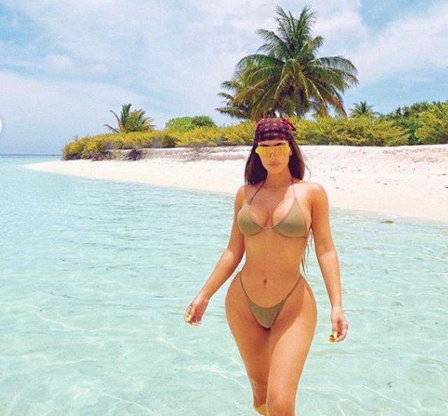 Kim Kardashian'dan 40. yaş pozları - Magazin haberleri