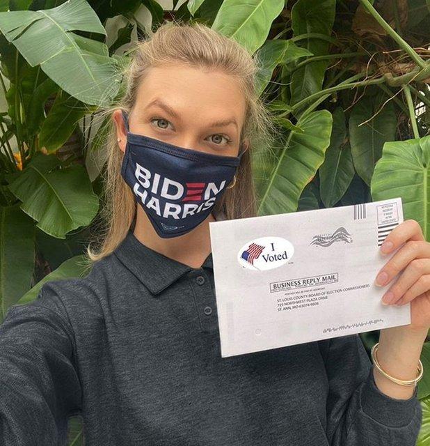 Karlie Kloss Joe Biden'e oy verdiğini açıkladı - Magazin haberleri