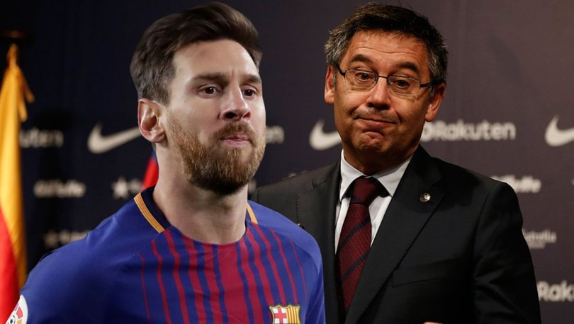 Messi kaldı, başkan Bartomeu gitti - Spor haberleri