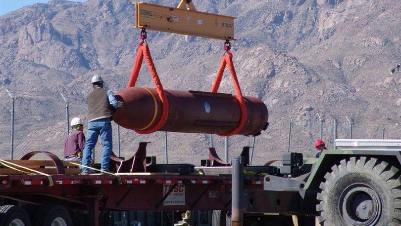 ABD'den İsrail'e 14 tonluk hediye bomba! - Haberler