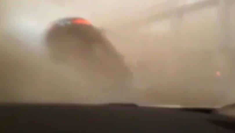 SON DAKİKA HABERİ: Hatay'da inanılmaz görüntü! Aracıyla hortuma kapıldı ve...