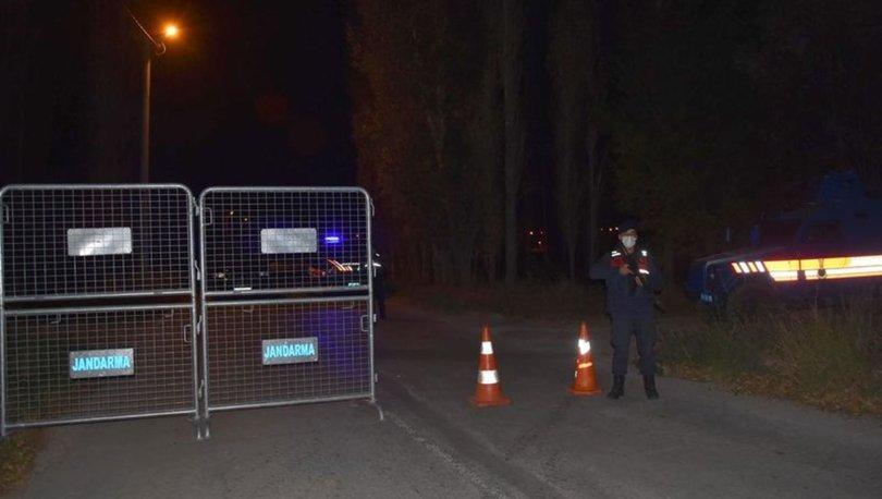 Kütahya'da Kovid-19 karantinasına alınan mahalle giriş-çıkışlara kapatıldı