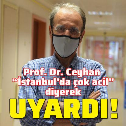 Önemli uyarı: İstanbul'da çok acil...