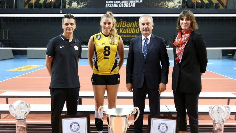 VakıfBank Voleybol Takımı'nda hedef 3. rekor