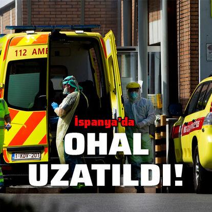 Son dakika: İspanya'da koronavirüs nedeniyle ilan edilen OHAL uzatıldı! - Haberler