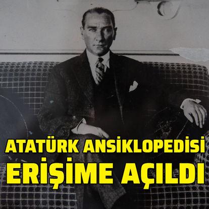 Atatürk Ansiklopedisi erişime açıldı