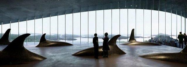 Dışarıdan balina kuyruğunu andırıyor! İçerisi ise apayrı bir dünya - Haberler
