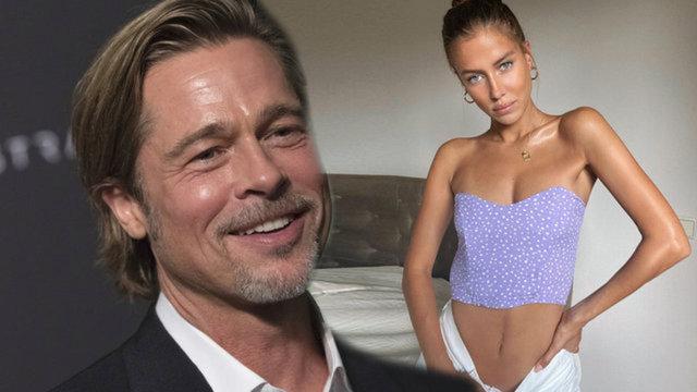 """""""Brad Pitt ile Nicole Poturalski'nin yaşadığı ciddi bir ilişki değildi"""" iddiası - Magazin haberleri"""