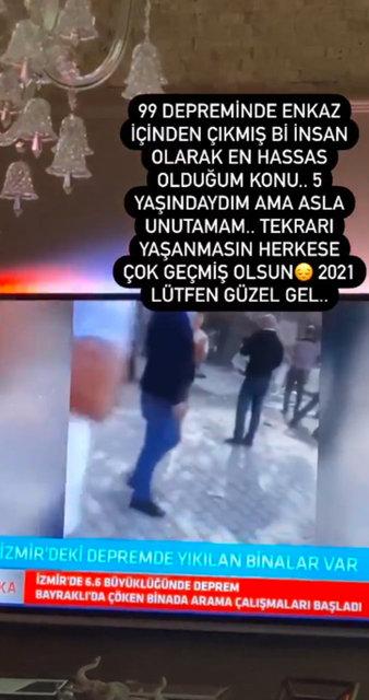 Ünlülerden İzmir paylaşımları - Magazin haberleri