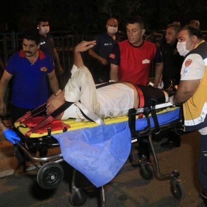 Adana'da sulama kanalına düşen kişiyi itfaiye kurtardı
