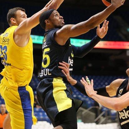 Maccabi Playtika: 65 - Fenerbahçe Beko: 75   MAÇ SONUCU